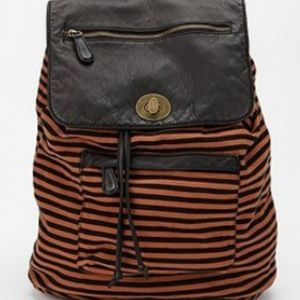 Deux Lux striped backpack